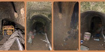 İstanbul Başakşehirdeki mağarada 4 defineci suçüstü yakalandı