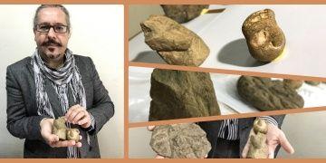 İstanbulun Beykoz ilçesinde taş devri eserleri bulundu