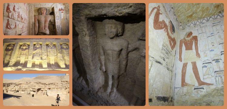 Mısırda 4.400 yıllık saray rahİbİne aİt mezar bulundu