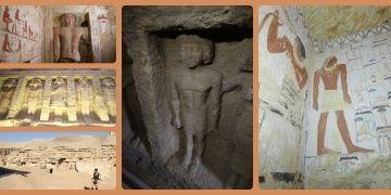 Mısırda 4.400 yıllık saray rahibine ait mezar bulundu