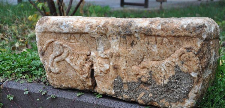 Konyada Danyal Peygamber kabartması bulundu