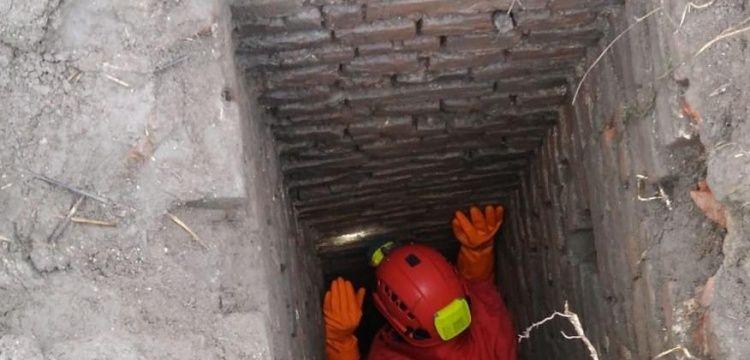 Kırklarelinde 1940larda yapılmış tünel bulundu