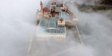 İshak Paşa Sarayından sisli manzararalar