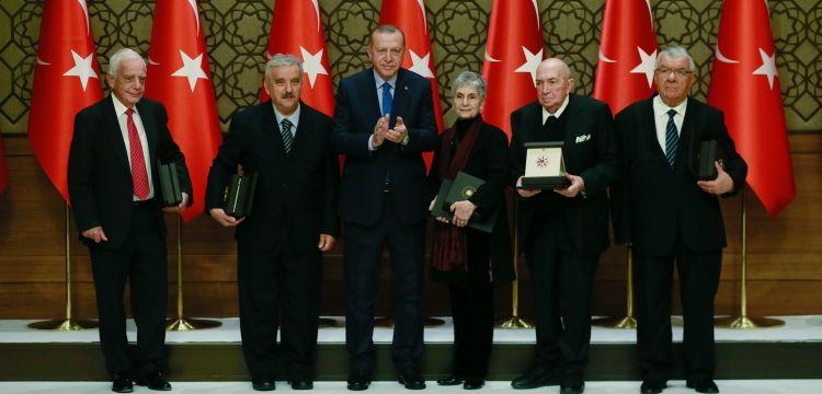 Cumhurbaşkanlığı Kültür ve Sanat Büyük Ödülleri verildi