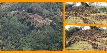 Endonezyada piramidi andıran tapınak kalıntısı keşfedildi