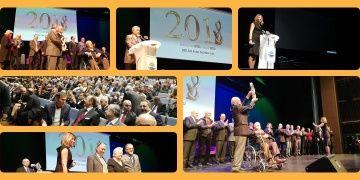 Anadoludan Büyük Şükran Ödülü elden ele Prof. Dr. Metin Sözene verildi