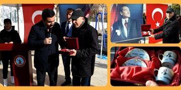 Atatürkün kahve içtiği fincanlar Kırşehir Belediyesine hediye edildi