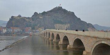 Koyunbaba Köprüsünde 5 yıldır süren restorasyon sona yaklaşıyor