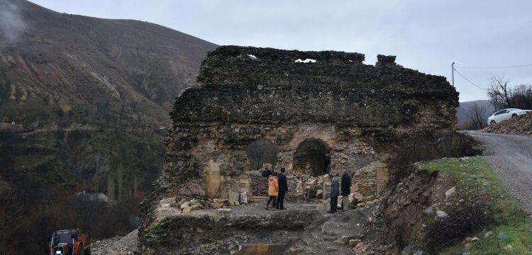 Arapgirde bulunan tarihi cami restore edilecek