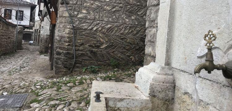 Safranboluda tarihi çeşmelerin restorasyonu durduruldu