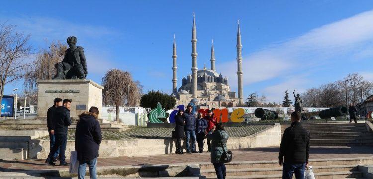 Selimiye Camisi 2 milyon beşyüz bin ziyaretçi ağırladı