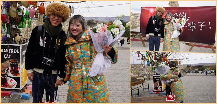 Çinli fenomenler kapadokya'da aşk başkadır dediler