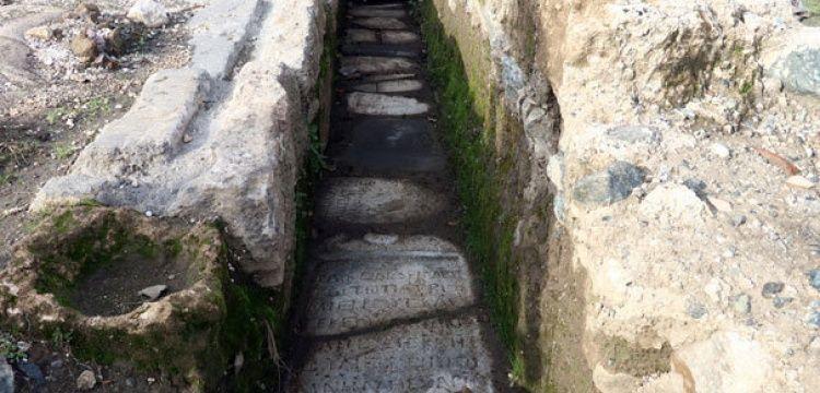 Eirenopolis Antik Kenti'nin kanalizasyonu sapasağlam ayakta duruyor
