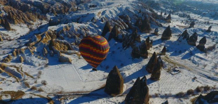 Kapadokya, 8 ayda 2 milyon ziyaretçi sayısını aştı