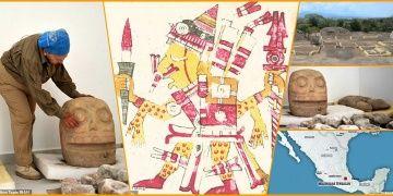 Azteklerin ölüm tanrısı Xipe Totece adadığı ilk tapınak bulundu