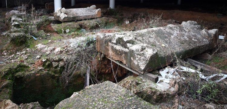 Antalya Doğu Garajının arkeolojik bulguları müze konseptiyle sergilenecek
