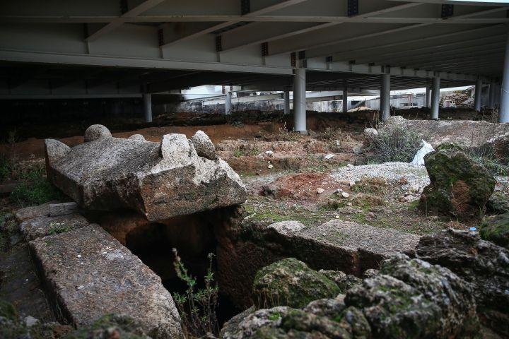 Antalya Doğu Garajı nekropolü müzeye çevrilecek
