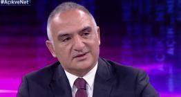Bakan Ersoy Kültür ve Turizm Bakanlığının 2020 bütçe hedeflerini açıkladı