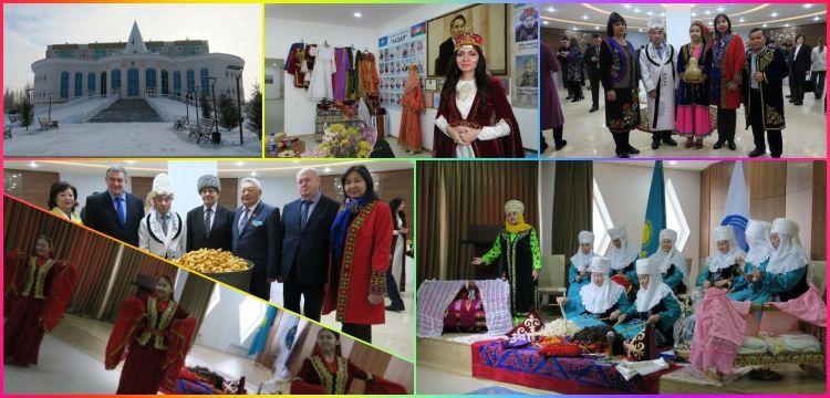 Astana'daki Dostluk Evi'nde  22 etnik cemaatin kültürü yaşıyor