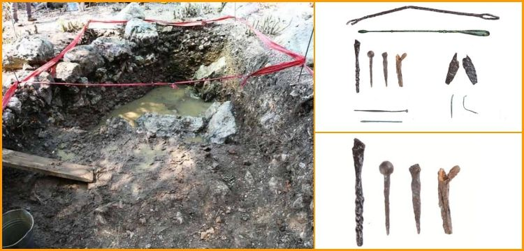 Bursa'daki Apollonia ad Ryndacum antik kentinde tıbbi aletler bulundu