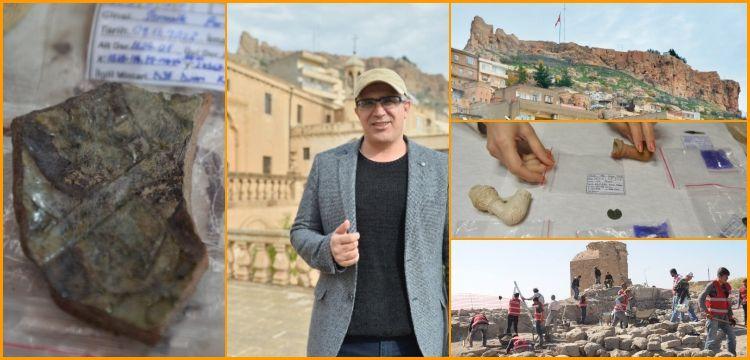 Mardin Kalesi'ndeki arkeolojik buluntular yerinde sergilenecek