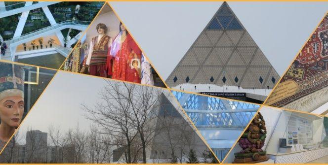 Kazakistanın 21. yüzyıl Piramidi: Barış ve Uyum Sarayı