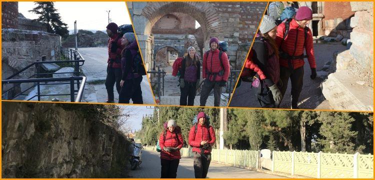 Amerikalı gezginler Sufi Yolu'ndan İstanbul'dan Konya'ya gidiyor