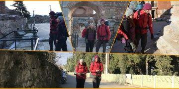 Amerikalı gezginler Sufi Yolundan İstanbuldan Konyaya gidiyor