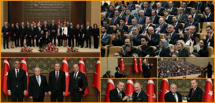 Kültür ve Turizm Bakanlığı Özel Ödülleri törenle verildi