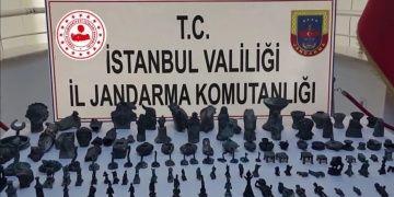 Yozgattan getirilen 138 tarihi eser Şilede yakalandı
