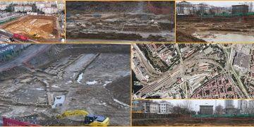 Kadıköyde otel inşaatı kazısında arkeolojik kalıntılar bulundu