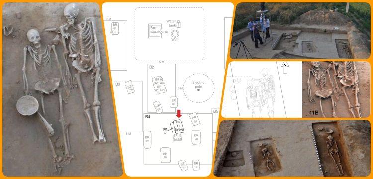 Hindistan'da 4500 yıl önce ölen çiftin mezarı gizemlerle dolu