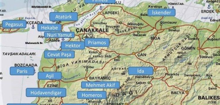 Troas Kültür Rotalarına hangi tarihi isimlerin verileceği belli oldu
