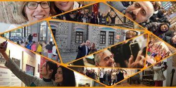 16 Ocak Müzede Selfie Günü renkli manzaralara sahne oldu