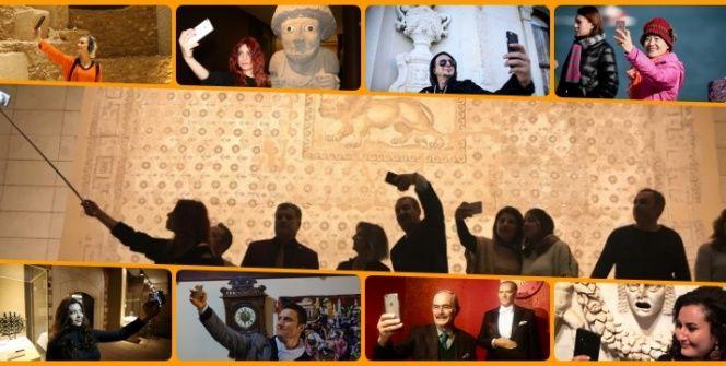 Türkiyede Müzede Selfie Gününden seçme manzaralar