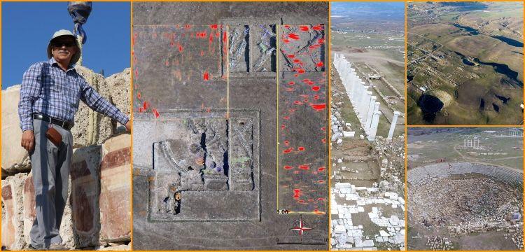 Batı Anadolu'nun en eski mimari kalıntıları Çürüksu Vadisinde