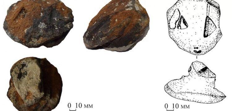 Ukrayna'da 8.300 Yıllık Taşa Oyulmuş Yılan Başları Bulundu