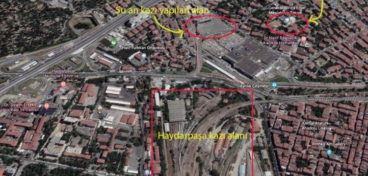 Haydarpaşa'daki 3 ayrı arkeolojik kazı alanı birbiri ile bağlantılı mı?