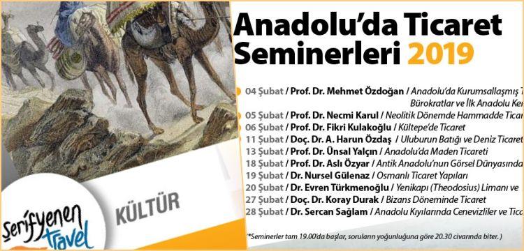 Arkeologların anlatımıyla Anadolu'da Ticaret Seminerleri