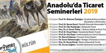Arkeologların anlatımıyla Anadoluda Ticaret Seminerleri
