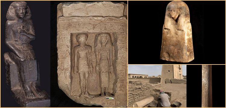Mısır'da ilk kez bir villa içinde Atalar Mabedi keşfedildi