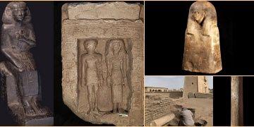 Mısırda ilk kez bir villa içinde Atalar Mabedi keşfedildi