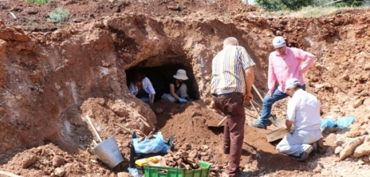 Kıbrıs Rum Kesiminde kanalizasyon inşaatında tarihi kalıntılar bulundu