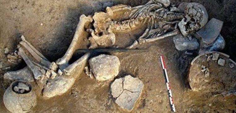 Rüstemabad'da 3 bin yıllık mezar bulundu