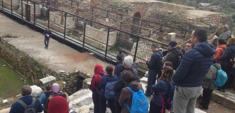 Aydın'da arkeolog rehber eşliğinde trekking turları başladı