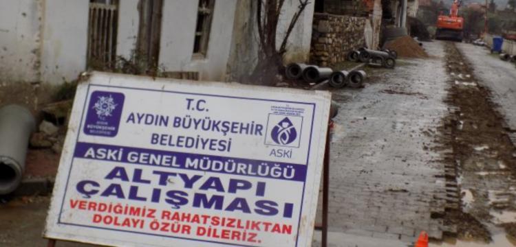 Aydın'da kanalizasyon kazısında arkeolojik kalıntılara rastlandı