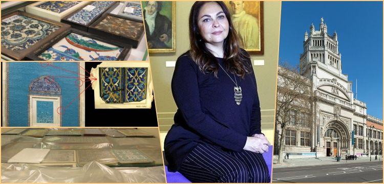 Türkiye'den çalınan çiniler Victoria and Albert Müzesi'nde bulundu