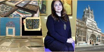 Türkiyeden çalınan çiniler Victoria and Albert Müzesinde bulundu