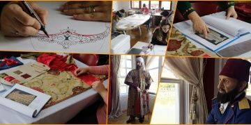 Müzelerdeki Osmanlı Padişah kıyafetleri yeniden üretiliyor