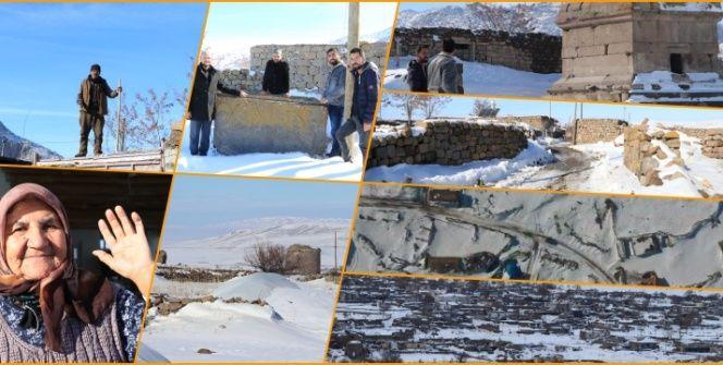 Arkeolojik Sit alanı ilan edilen Madenşehri köyü taşınmayı bekliyor